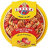 Sirena Sicilian Style Pasta with Tuna, 12 x 170 g
