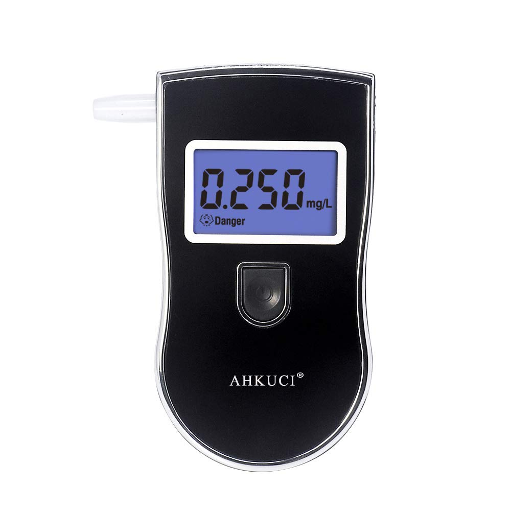 AHKUCI Portable Breath Alcohol Tester with High Accuracy by AHKUCI