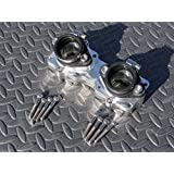 NEW Banshee BILLET intakes manifold & boots 26 28 29 30mm intake 87-06 crossover