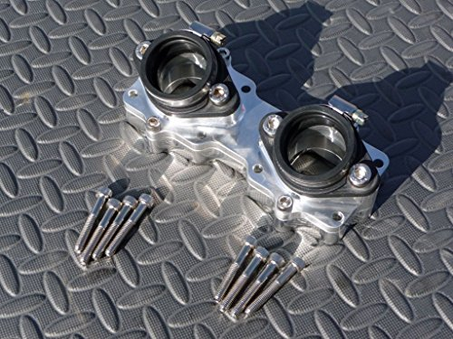 (New Banshee Billet Intakes Manifold And Boots 26 28 29 30Mm Intake 87-06 Crossover)