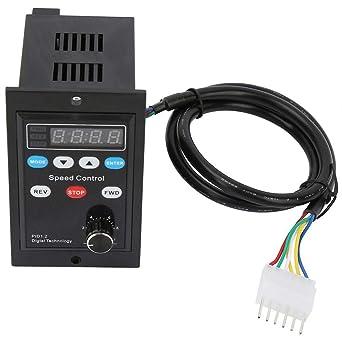250W Single Phase Motor Speed Controller Intelligent Digital Motor ...