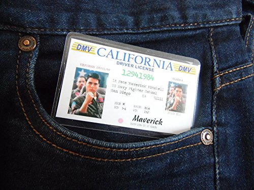 Top Gun Maverick Novelty ID Fancy Dress costume - Replica Accessories Guns