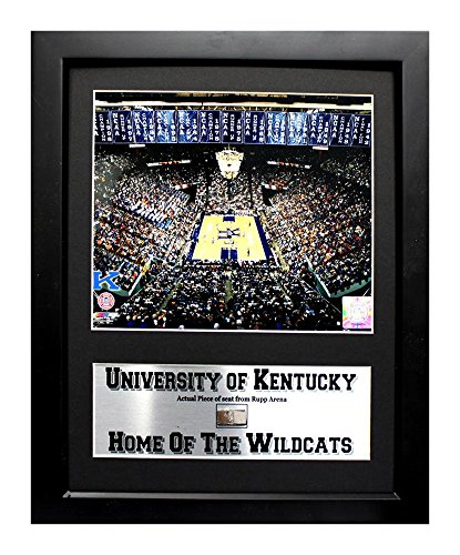Encore Select 134-06 NCAA Kentucky University Deluxe Frame Home of the Wildcats Print and Rupp Arena Piece, 12-Inch by 18-Inch ()