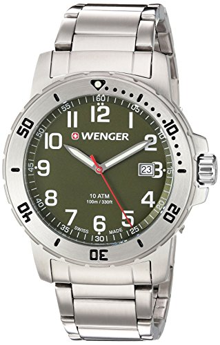 Wenger-Mens-Off-Road-Swiss-Quartz-Stainless-Steel-Casual-Watch-ColorSilver-Toned-Model-011341107
