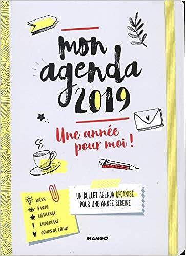 Mon Agenda 2019 : une Annee pour Moi!: Amazon.es: Lucie ...