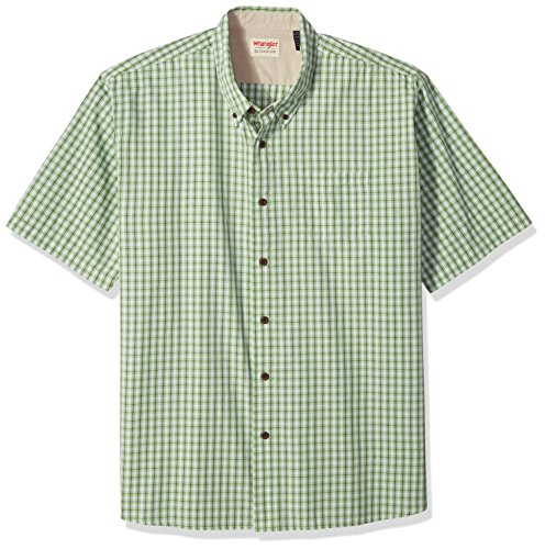 wrangler-mens-big-and-tall-authentics-short-sleeve-classic-plaid-shirt-forest-shade-3xl