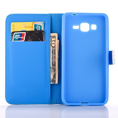 A9H Estilo Libro Funda Samsung Galaxy S7 Carcasa Cuero Tapa Case Cover Universales Cierre Magnético Carcasa Cuero Pu Tapa Bookstyle Cartera Case con Función de Soporte -13HUA 03HUA