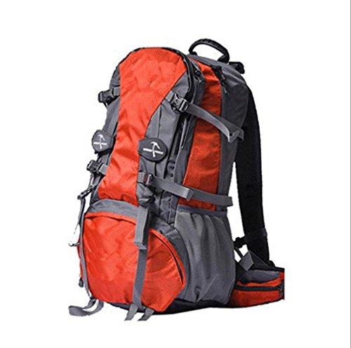 36 Ordinateur Sac Pour BAILIANG Randonnée Camping Orange 55L étanche Dos Pour Voyage à Portable wZqwxPBgR