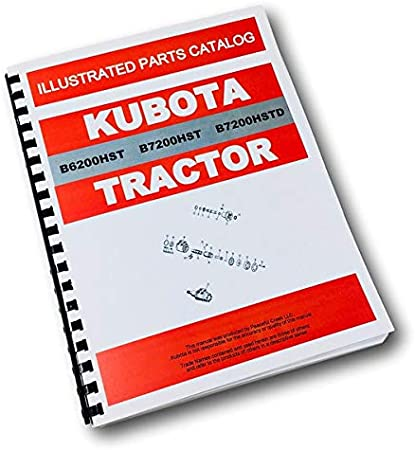 Kubota B7200HST-D Tractor Operators Manual Tractors Patio, Lawn ...