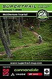 Supertrail Map Walchensee / Isartal: Maßstab 1:50.000