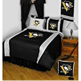 NHL Pittsburgh Penguins Hockey Queen-Full Comforter Set