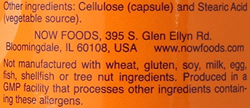 Now Foods Taurine Capsules, 1000 mg, 100 Count