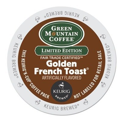 Green Mountain Limited Edition Golden French Toast K Cups (60 Count) - Packaging May Vary