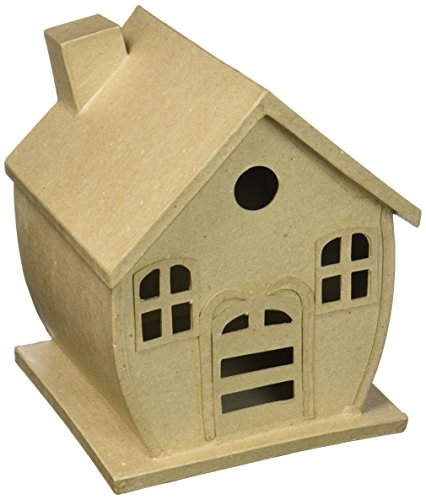 Craft Ped Paper CPLJV0025 Mache Gingerbread House 9
