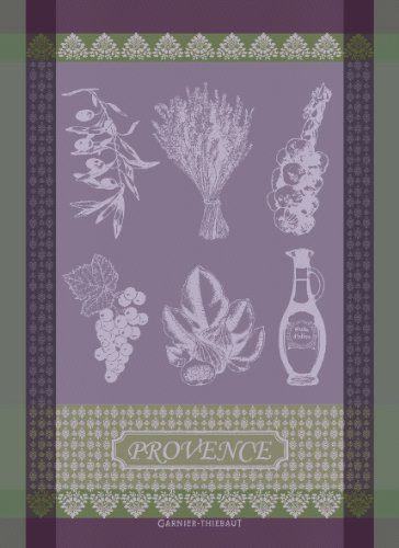 garnier-thiebaut-100-two-ply-twisted-cotton-provence-lavande-kitchen-towel-22-by-30-inch-lilac-made-