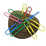Bikani Magnetic Paper Clip Holder Push Pin Holder,Paperweight, Desk Toys, Magnetic Desk Toy,Cool Gifts, Stress Relief Toys (Dark Walnut Set of 1)