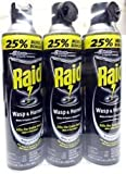 (Ship from USA) Raid Wasp & Hornet Spray 17.5 Oz - Pack of 3 /ITEM NO#8Y-IFW81854240990