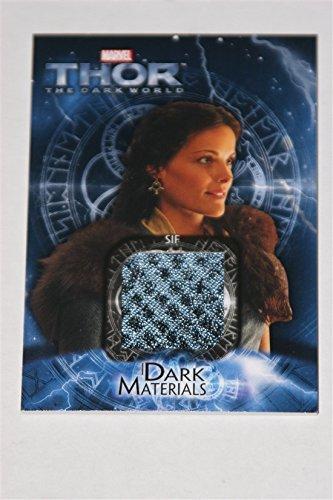 (Thor 2 The Dark World Trading Card Set Costume Card DM7 Jaimie Alexander as)