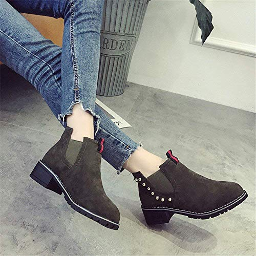 Boots 37 Boots 'S Comfort Eu Casual SED Mujer' Retro Bare S Botas Zapatos xSgOyqPY