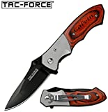 Free Engraving - TAC-Force Gentleman's Knife 4'' Closed Stainless Steel Pocket Knife TF-468