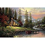 Artoree DIY 5D Diamond Painting by Number Kit for Adult, Full Drill Diamond Embroidery Dotz Kit Home Wall Decor-16x20'' Peace