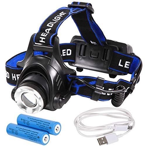 Tomo Light(トモライト) LEDヘッドライト 充電式 地震 台風 大雪 防災 特化型 単眼ライト PSE認証 18650型リチウムイオンバッテリー 2本付属【3個セット】 スポーツ レジャー レジャー用品 ヘッドライト 14067381 [並行輸入品] B07R5VWZPH