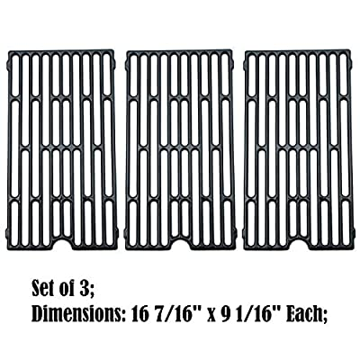 Direct store Parts DC105 (1-Pack) Porcelain Cast Iron Cooking Grid Replacement Vermont Castings, Chargriller, Jenn Air Gas Grill