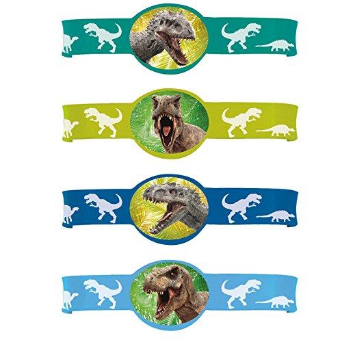 Jurassic World Rubber Bracelets (4) (Jurassic World Rubber Bracelets)