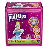 Health & Personal Care : Pull-Ups Night Time Training Pants for Girls, 2T-3T, 48 Count (Pack of 2)