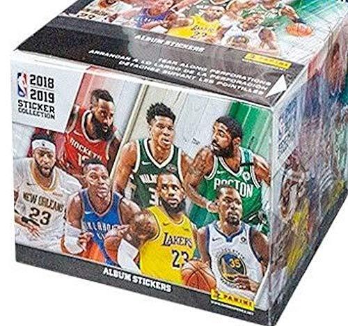 Panini 2018/19 NBA Basketball Sticker Collection box (50 pk)