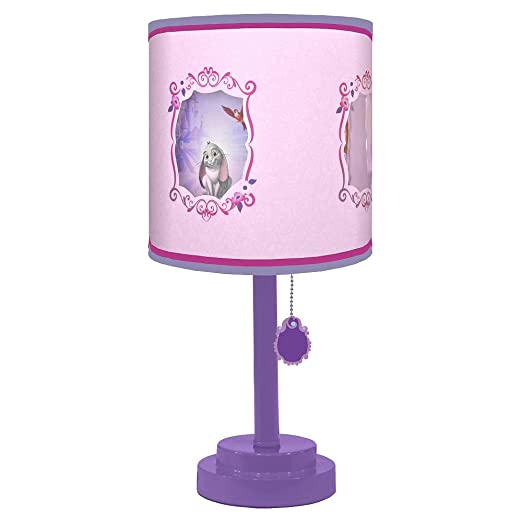 lighting for girls room. amazoncom disney sofia the first collection for nursery toddler room table lamp childrens mattress and box spring sets baby lighting girls g