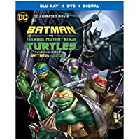 Batman vs Teenage Mutant Ninja Turtles [Blu-ray]