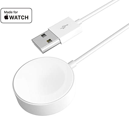 Amazon.com: Compatible con Apple Watch Series 1/2/3/4, cable ...