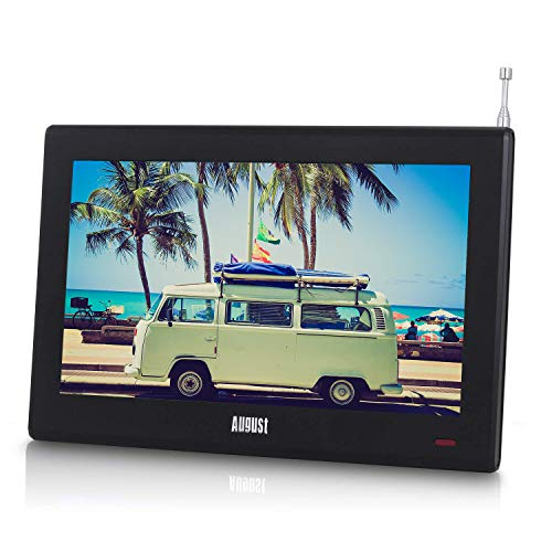 August DA100D - 10' Portable TV with Freeview - Add a Small Screen Digital...