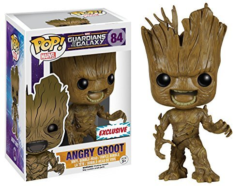 Guardians of the Galaxy Angry Groot Vinyl Bobblehead Figure