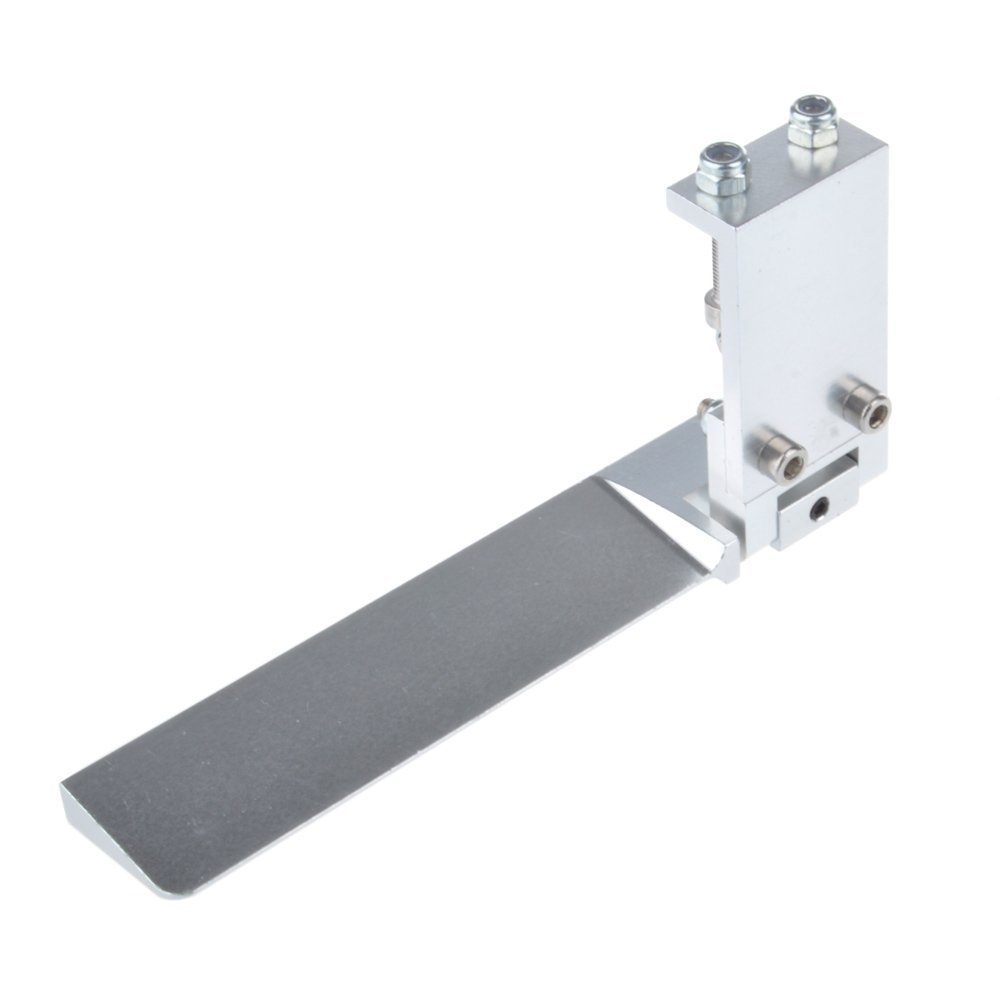 3.74 inch Rudder Water Absorbing Steering Rudder With Suction Device Function For RC Boat 1pcs Sliver