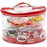 Disney Parks Exclusive Deluxe Cars 6 Piece Squeeze Bath Tub Toys Set