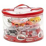 Disney Parks Exclusive Deluxe Cars 6 Piece Squeeze Bath Tub Toys Set by Disney
