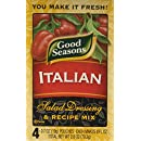 Good Seasons Salad Dressing & Recipe Mix, Italian, 4 Count, 11.2 Ounce