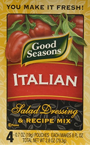 ingredients in kraft italian dressing - 1