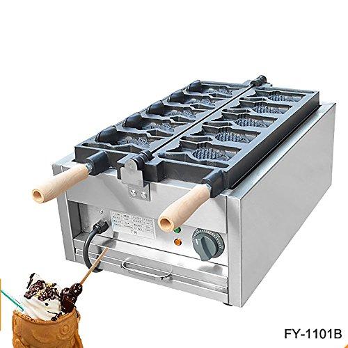 Commercial Nonstick 110V 220V Electric Ice Cream Taiyaki Ope