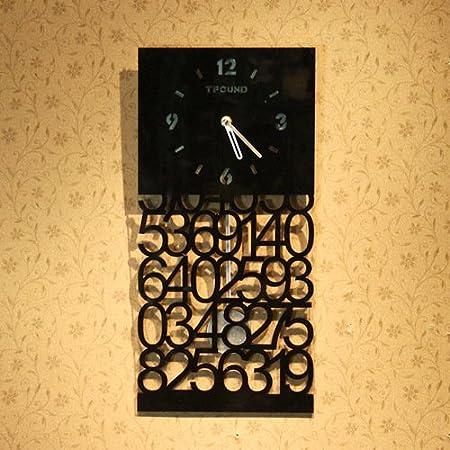 Weihong Hollow decorative digital wall clock / Creative pendulum ...