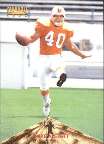 (1996 Pinnacle Football Rookie Card #158 Mike Alstott)