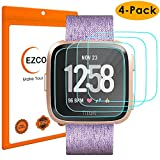 EZCO (4-Pack) Screen Protector Compatible Fitbit Versa...