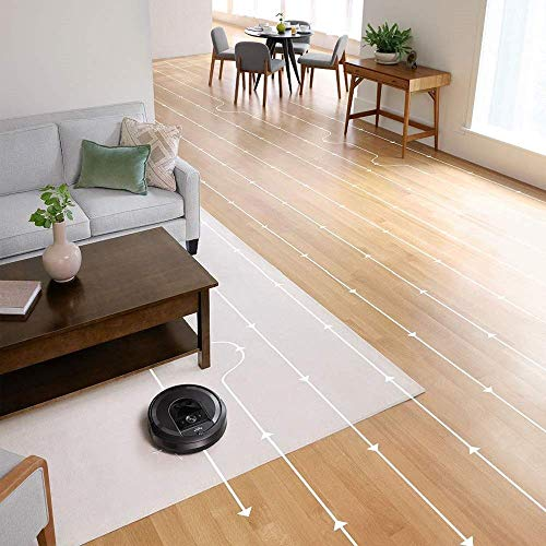 Amazon.com: iRobot Roomba i7+ (Plus) Robotic Vacuum Cleaner with Automatic Dirt Disposal and Wi-Fi Connectivity + Manufacturers Warranty + Extra Sidebrush ...