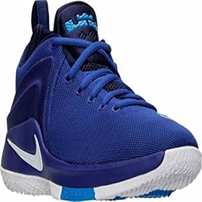 Nike Men's Lebron James Zoom Witness Game Royal White Basketball Shoes