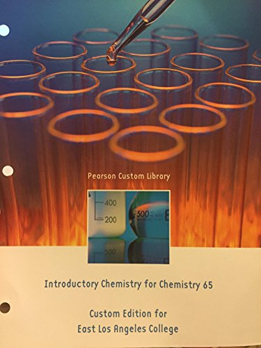 Price comparison product image Introductory chemistry for chemistry 65 custom edition for elac
