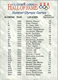 1991 Impel U.S. Olympic Hall of Fame #88 Games Locations - NM-MT