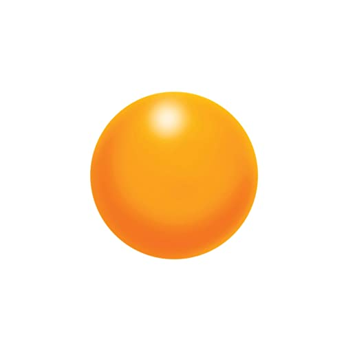 AIDAPT Orange Soft Foam Physiotherapy Ball for Strengthening Hand and Wrist Muscles. Ideal for Rehabiliation/Arthritis/Weak Wrists.