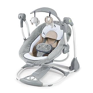 Ingenuity, Townsend 2 in 1 Babyschaukel und -sitz, zusammenklappbar, mit Vibrationen, 5 Schaukelgeschwindigkeiten, mehr als 8 Melodien und Lautstärkeregler 13